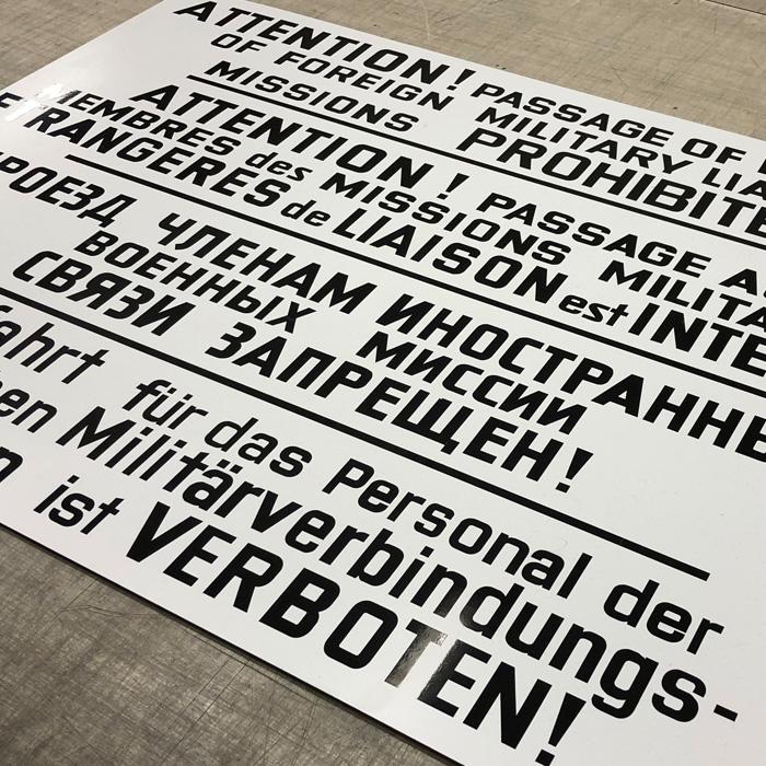 Front Page, Gravierwerkstatt Chemnitz